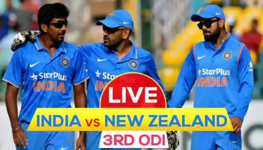 Ind vs NZ 3rd ODI Live Streaming: How to Watch Live Telecast on TV & Online Guide