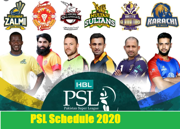 PSL Schedule 2020, Match Timings, Dates & Venues